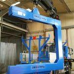 Charpentes métalliques : Dispositif de Levage en C pour transformateur ERDF