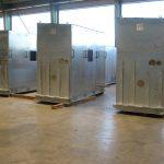 Charpentes métalliques : structures et cabines d