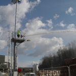 Serrurerie : Réalisation de mâts éclairage et incendie