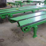 Unités de production : réalisation de convoyeurs à bande et à chaine pour la palettisation de rouleaux
