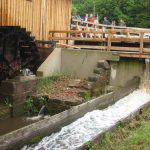 Unités de production : Restauration de la scierie de la Hallière