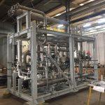Tuyauterie et instrumentation : Skid Heater, ossature tuyauterie inox et instrumentation